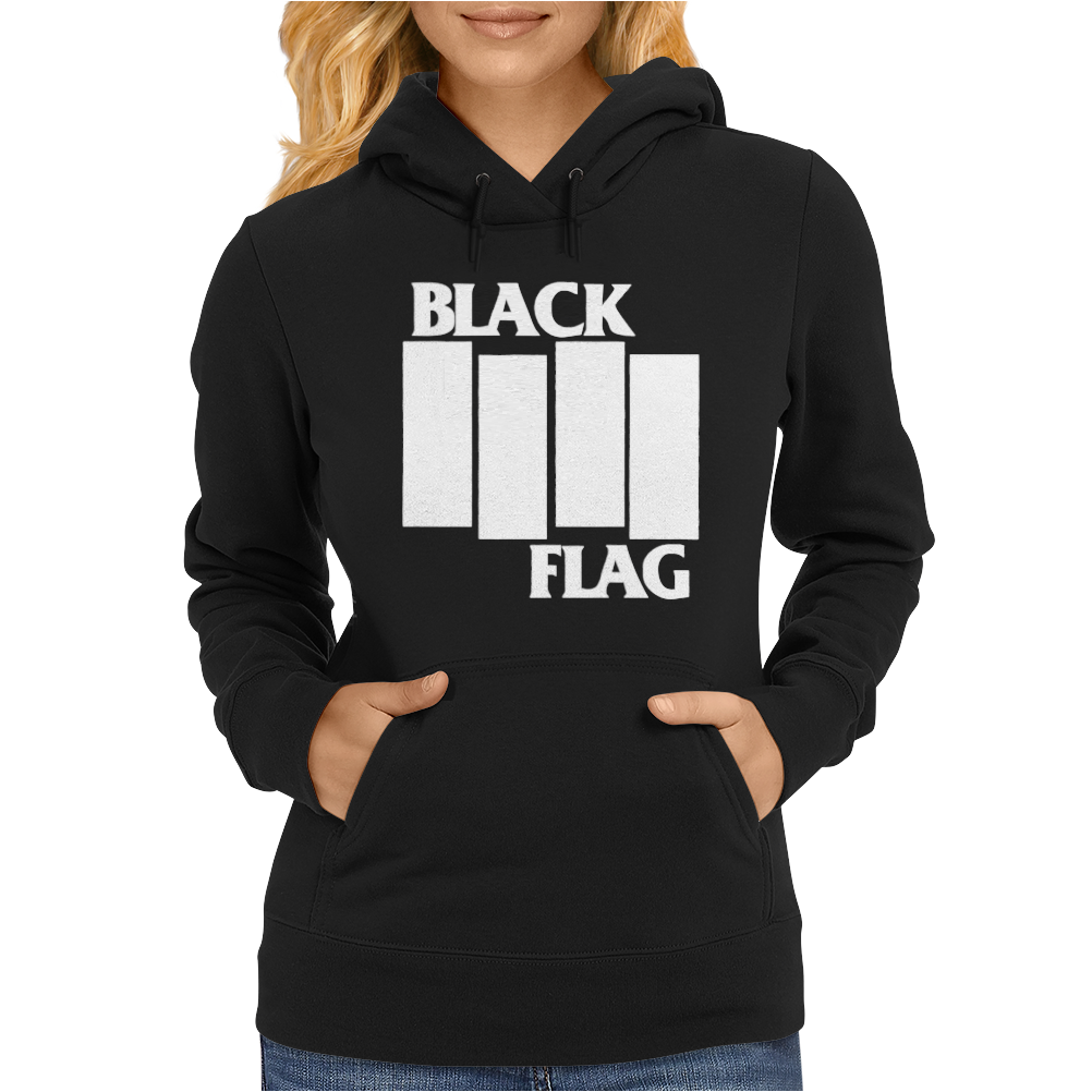BLACK FLAG new Womens Hoodie