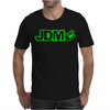 BLACK funny GLOW IN DARK Mens T-Shirt