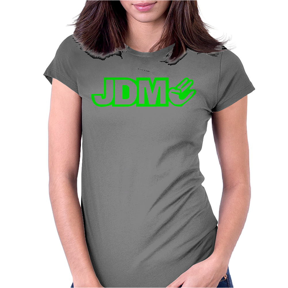 BLACK funny GLOW IN DARK Womens Fitted T-Shirt