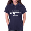 Black Guns Matter M16 Womens Polo