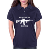 Black Guns Matter Womens Polo