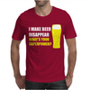Black I Make Beer Disappear Mens T-Shirt