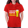Black I Make Beer Disappear Womens Polo