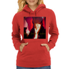 Black Jesuz 2 judas red/chocolate Womens Hoodie