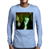 Black Jezus 2 judas green Mens Long Sleeve T-Shirt