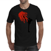 Black Leg Mens T-Shirt