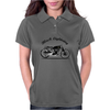 Black Lightning Womens Polo