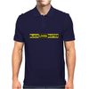 black live matter logo Mens Polo