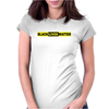 black live matter logo Womens Fitted T-Shirt
