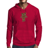 Black Metal Teddy Bear Mens Hoodie