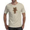 Black Metal Teddy Bear Mens T-Shirt