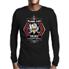Black Oak Roadie Retirement Center (Real artwork for fake businesses series) Mens Long Sleeve T-Shirt