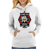 Black Oak Roadie Retirement Center (Real artwork for fake businesses series) Womens Hoodie