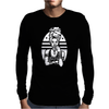 Black Olive Mens Long Sleeve T-Shirt