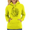 Black Panther art Womens Hoodie