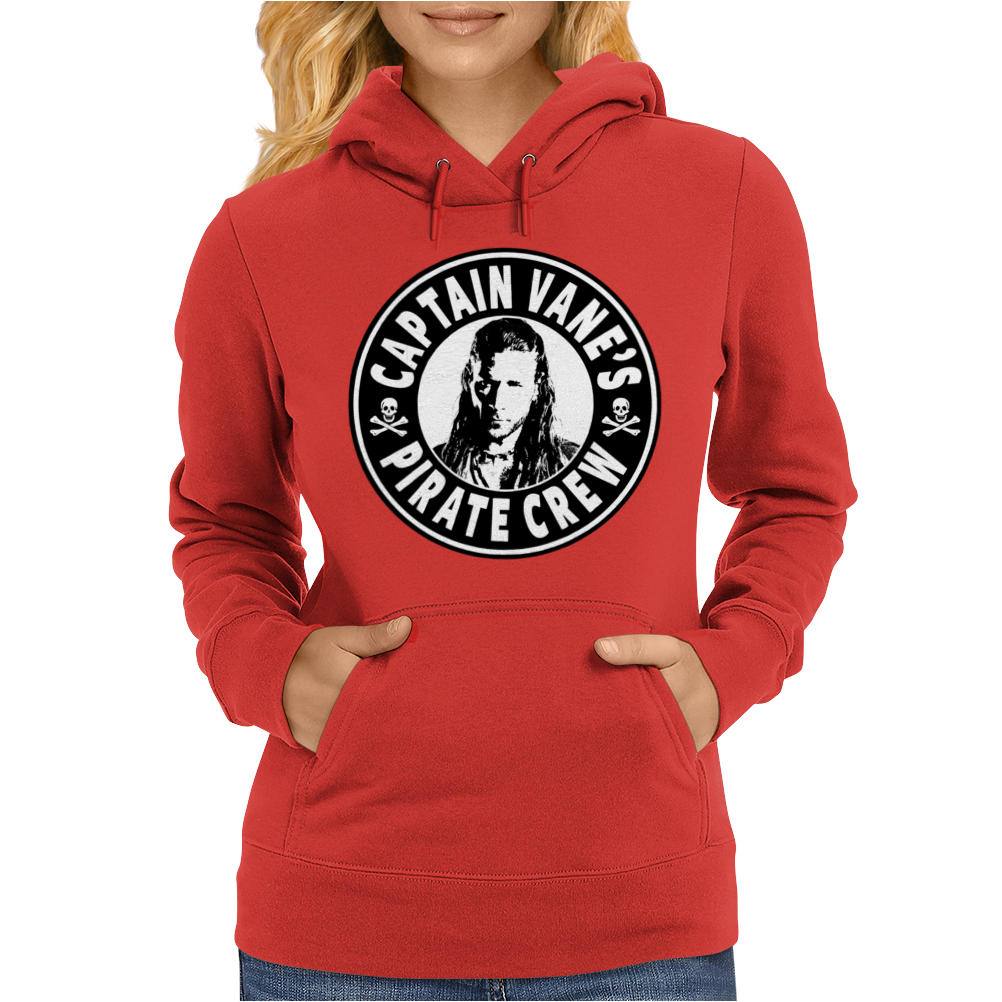 Black Sails, Captain Vanes Pirate Crew Womens Hoodie