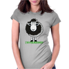 BLACK SHEEP Womens Fitted T-Shirt