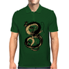Black Shenron Mens Polo