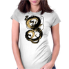 Black Shenron Womens Fitted T-Shirt