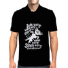 Black Soft Kitty Mens Polo