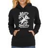 Black Soft Kitty Womens Hoodie