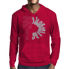Black-Sunflower Mens Hoodie