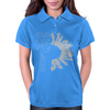 Black-Sunflower Womens Polo