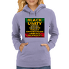 Black Unity (Atom of Life) Womens Hoodie
