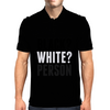 Black? White? Person Mens Polo