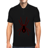 Black Widow Spider Mens Polo