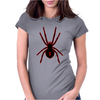 Black Widow Spider Womens Fitted T-Shirt