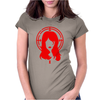 Black Widow Womens Fitted T-Shirt