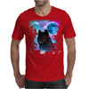 Black Wolf MidNight Forest 2 Mens T-Shirt