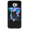 Black Wolf MidNight Forest 2 Phone Case