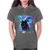 Black Wolf MidNight Forest 2 Womens Polo