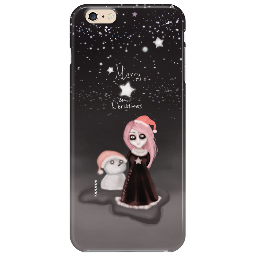 Black Xmas: A Merry Gothic Christmas Phone Case