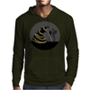 BLACK XMAS: Decorating the Christmas Tree by Rouble Rust Mens Hoodie