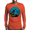 """BLACK XMAS: Decorating the Christmas Tree"" by Rouble Rust Mens Long Sleeve T-Shirt"