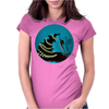 """BLACK XMAS: Decorating the Christmas Tree"" by Rouble Rust Womens Fitted T-Shirt"