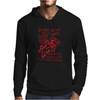 Black Zombie Soft Kitty Mens Hoodie