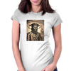 Blackbeard The Pirate Womens Fitted T-Shirt