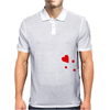 Blackbeard's Flag Pirate Edward Teach Mens Polo