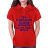Blackburn Rovers Funny Womens Polo