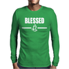Blassed Mens Long Sleeve T-Shirt
