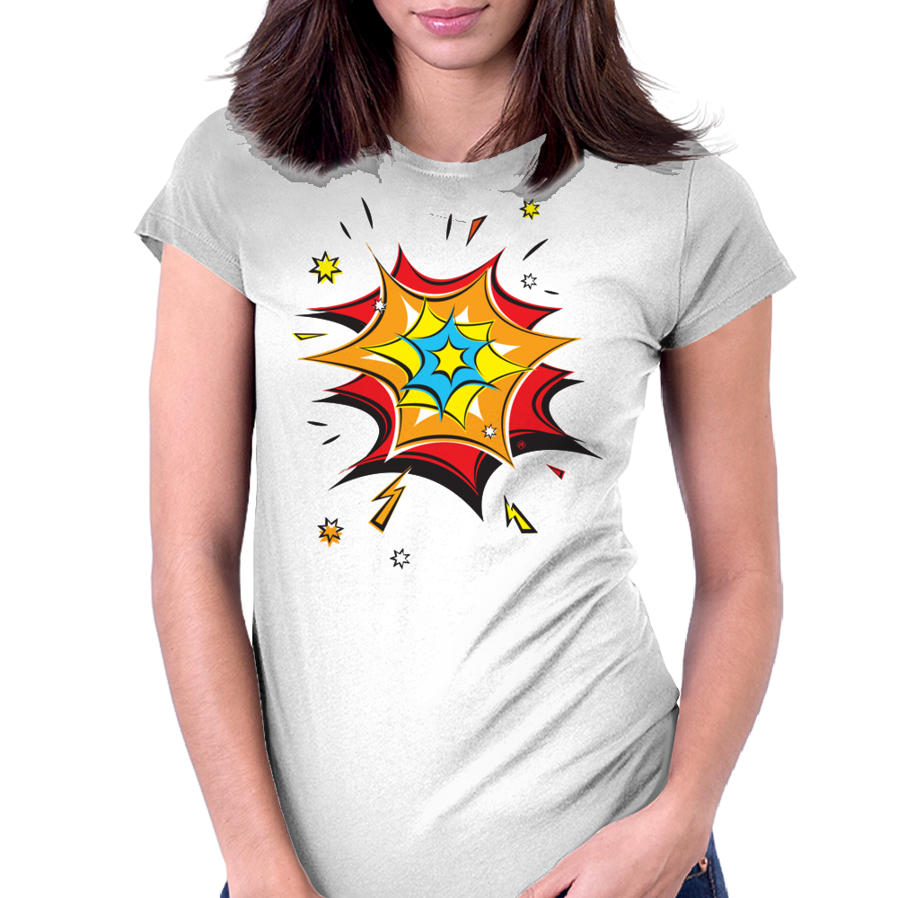 Blast! Womens Fitted T-Shirt