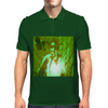 Bless 7he Mic green Mens Polo