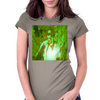 Bless 7he Mic green Womens Fitted T-Shirt
