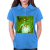Bless 7he Mic green Womens Polo