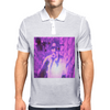 Bless 7he Mic purp Mens Polo