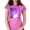 Bless 7he Mic purp Womens Fitted T-Shirt